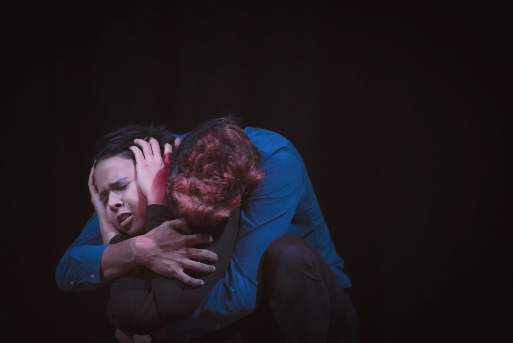 """The View - Ivan Gabriel and Tan Seoh Chen in """"The View"""" directed by Christopher Preslar, photo credit to Sherwynd Rylan Kessler"""