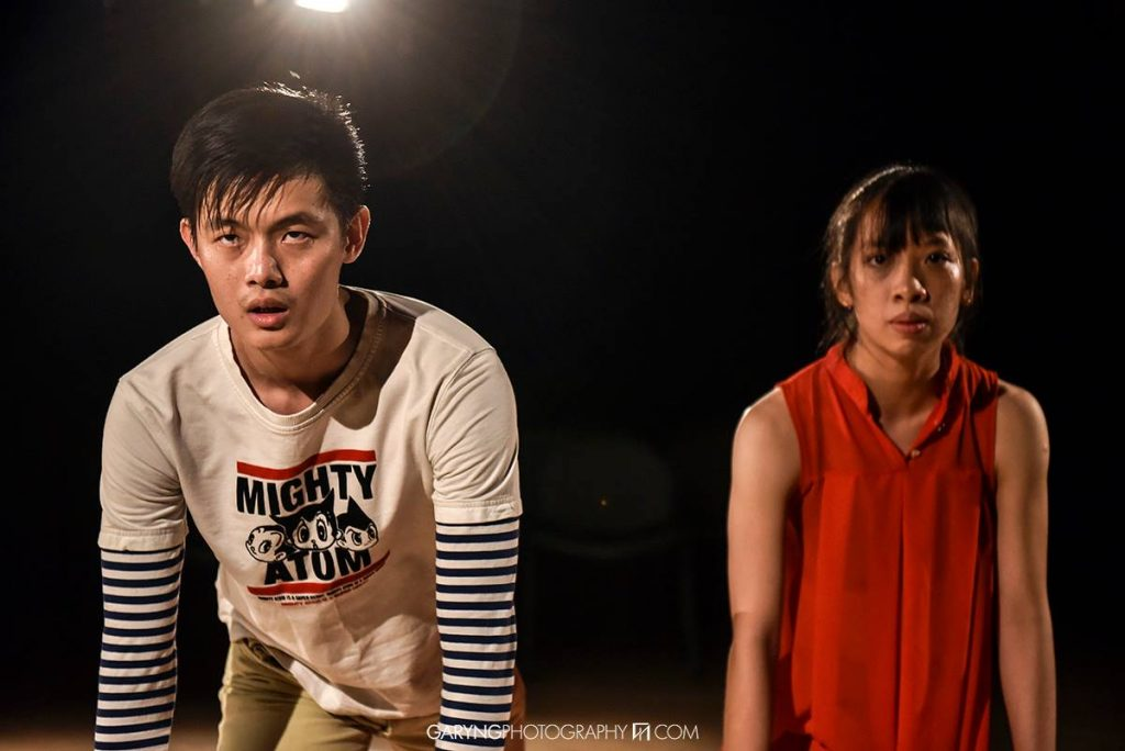 "Jason Yap and Silver Yee in ""Kill Your Darlings."" Photo: Gary Ng."