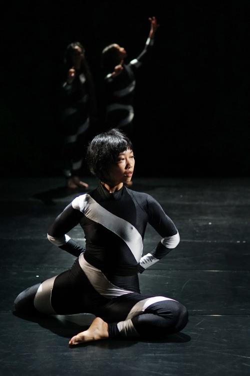 """Lee Ren Xin in Paula Rosolen's """"Puppets"""". Photo by Daniel Steven Trinidad."""