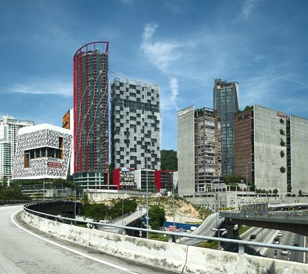 Empire Damansara, seen from the Penchala Link. Photo from Indesignlive.